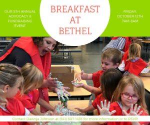 Breakfast at Bethel
